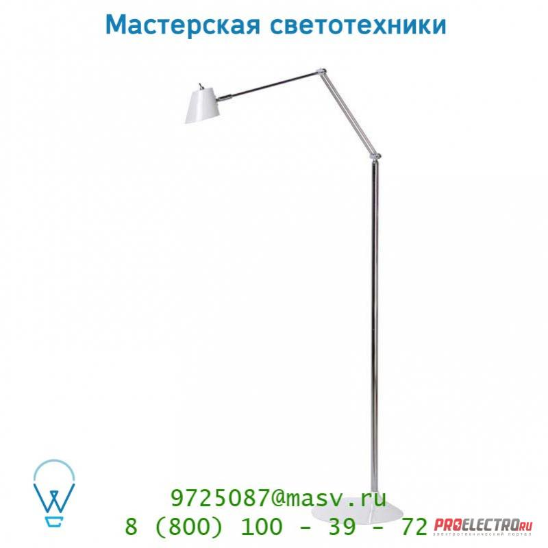 Торшер 30706/05/31 Lucide PINTO Stehl. LED 4.8W H98-158 Weiss