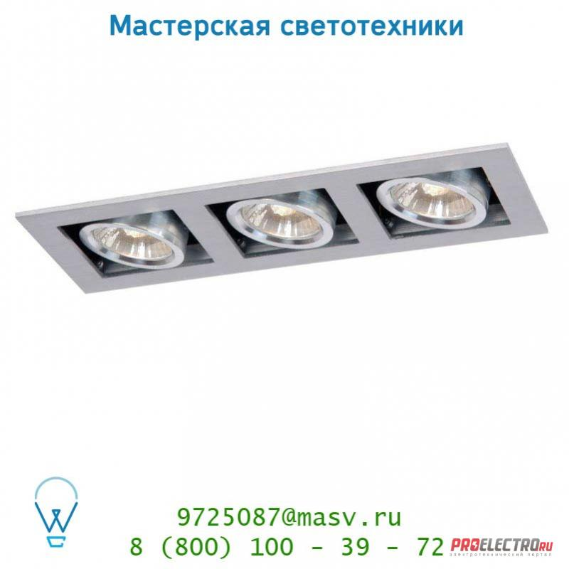 Lucide CHIMNEY Spot 3xGU10/50W excl. Mattes Chroom 28900/03/12 спот
