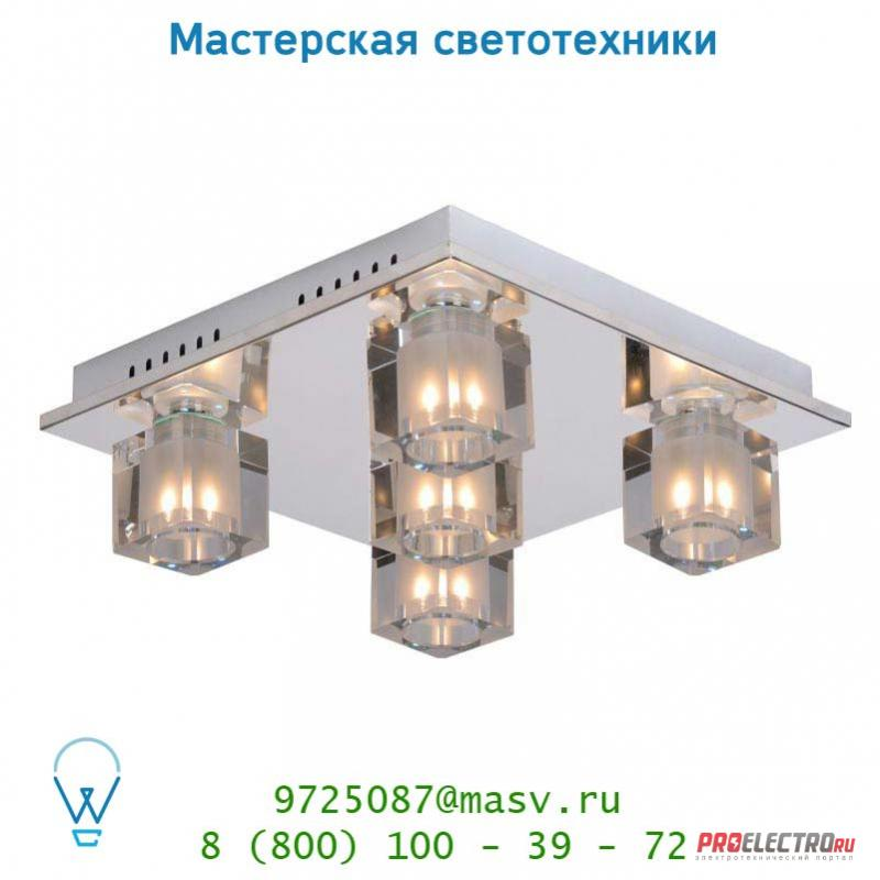 32150/25/11 Lucide KILLY LED Deckenl.35/35/12,5cm G9/40W+RGB Fernbed потолочный светильник