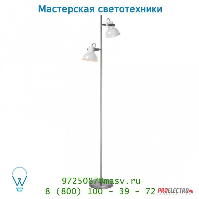 31779/02/31 Lucide WIMPY Stehl. 2xE14 W40 H150cm Weiss торшер