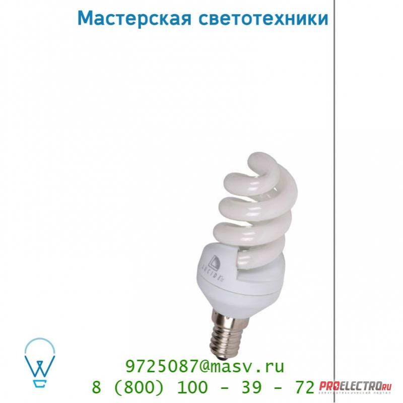 Лампа Lucide Energiesparlampe Blister Spiralel E14/9W 50434/09/31