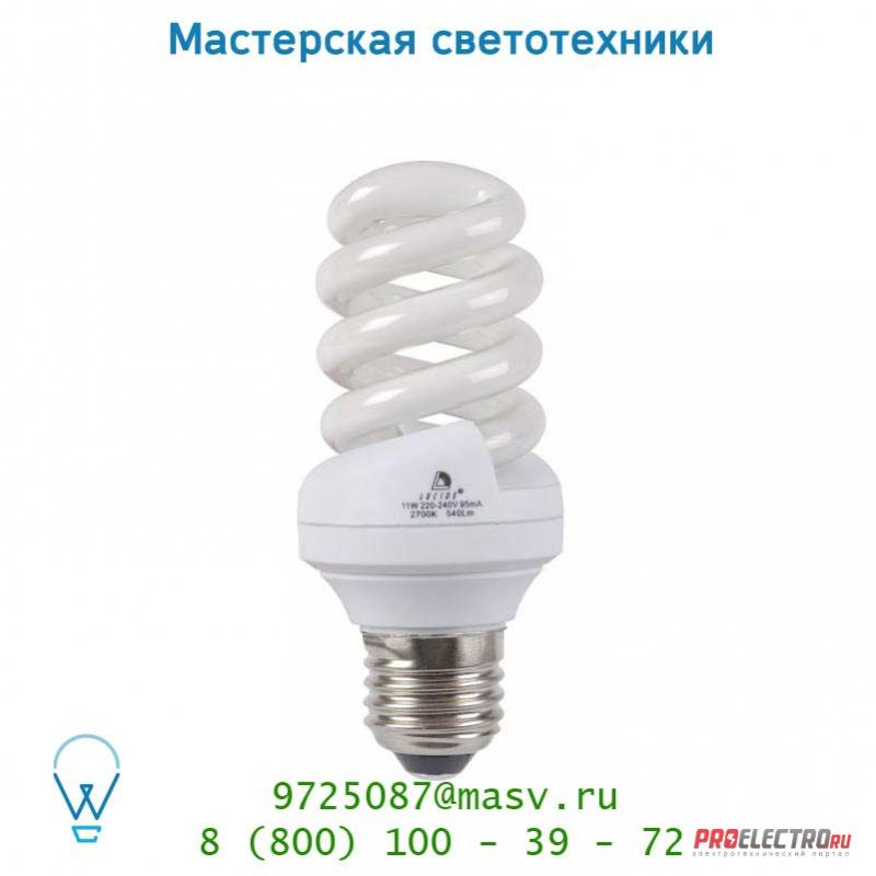 Лампа 50534/11/31 Lucide Energiesparlampe Blister Spirale Dimmable E27/11W