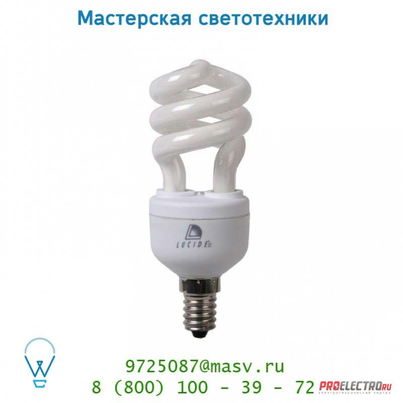 50434/11/31 лампа Lucide Energiesparlampe Blister Spirale E14/11W