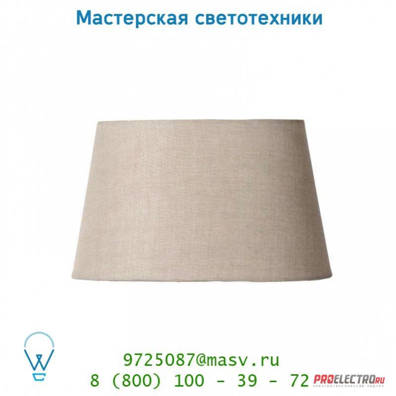 Lucide Schirm Oval 23/29/16cm Linen Naturel абажур 61020/29/38