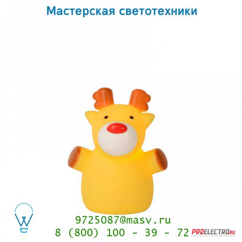 Настольная лампа Lucide COLOR ZOO Elen H10cm Gelb 71555/21/34