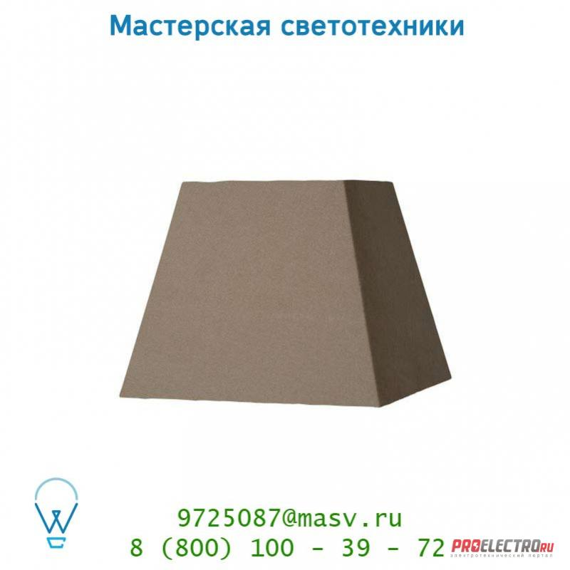 Абажур 61023/25/41 Lucide Schirm Viereckig 25/25/20cm Taupe