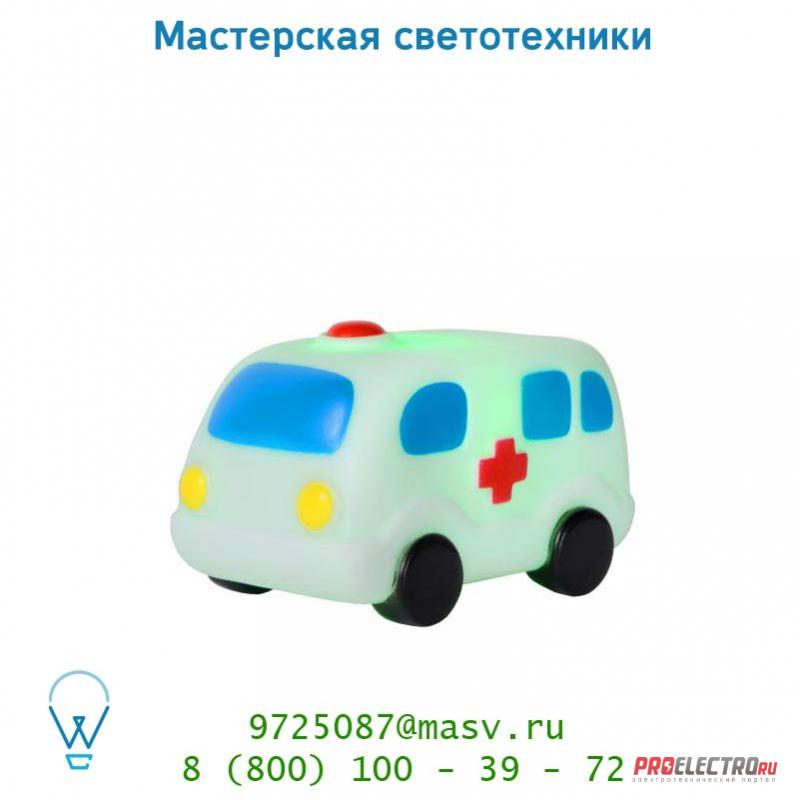 Lucide Night Light LED 0.1W Ambulanzwagen Weiss настольная лампа 71560/21/31