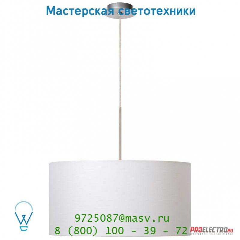 61455/50/31 Lucide CLIFF Hangel. 1xE27 D50 H140cm max Weiss подвесной светильник