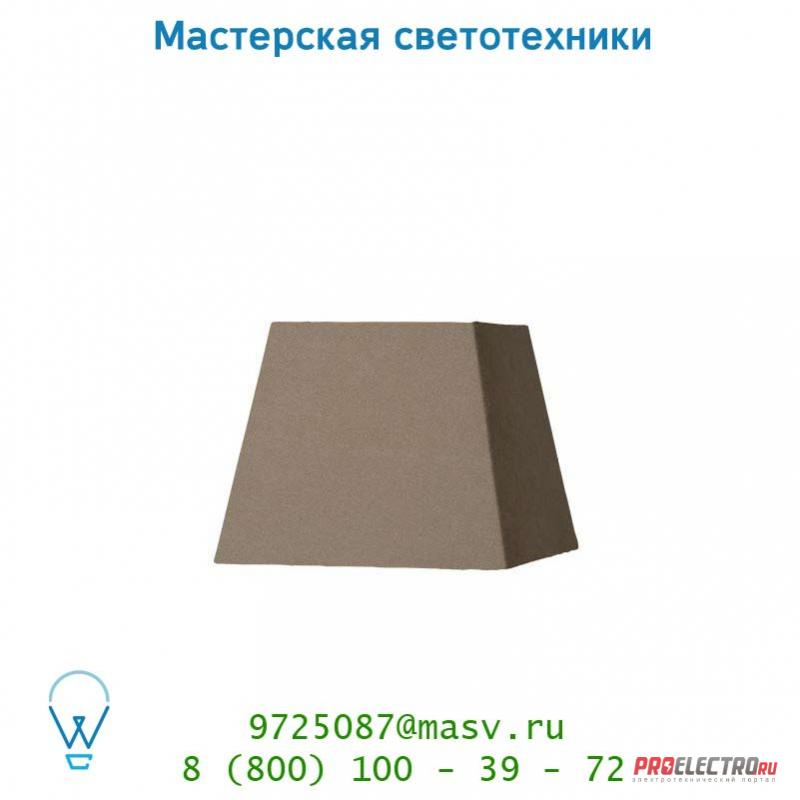 61023/20/41 абажур Lucide Schirm Viereckig 20/20/16cm Taupe