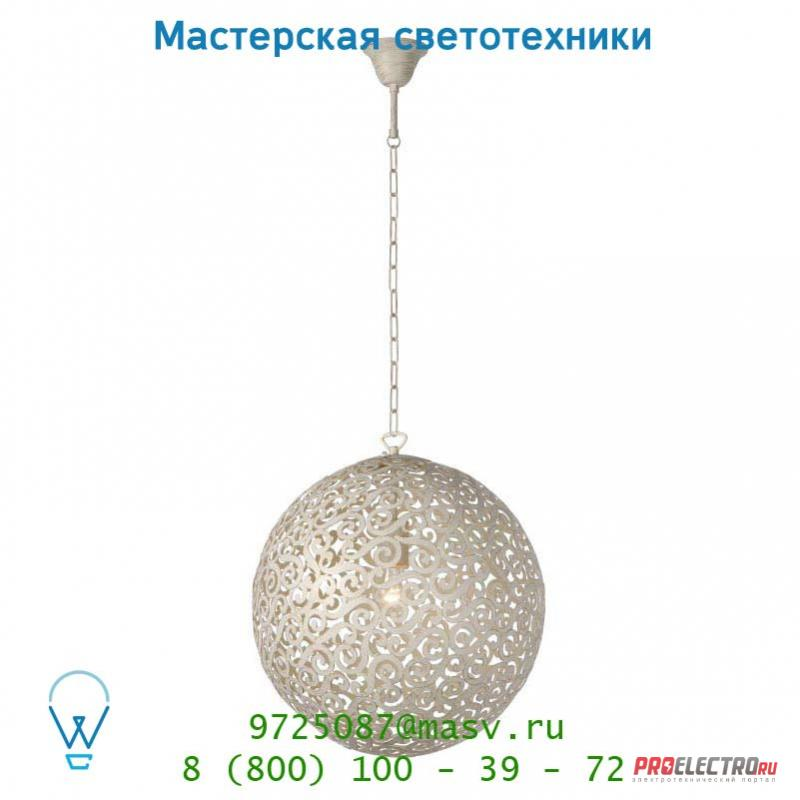 Подвесной светильник 78361/01/21 Lucide FEZ Krone 1xE27 Ø40cm Ant Weiss
