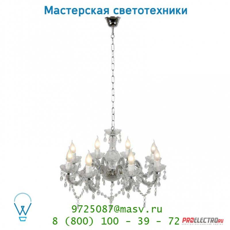 Lucide THERESE Krone 8xE14/40W Glas подвесной светильник 78350/08/60