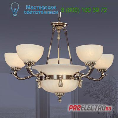 Люстра  220A 5+2 AQ Opal Riperlamp