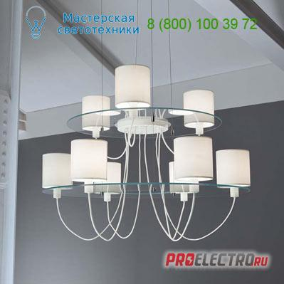 Люстра SILHOUETTE 3L + 6L Muranoluce