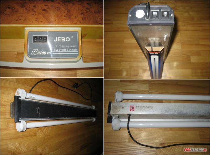 Ремонт аквариумных светильников по цене 1000 руб.