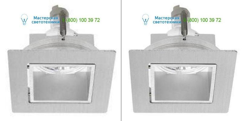 PSM Lighting CASTMBDCR.14.2 alu satin/black, светильник > Ceiling lights > Recessed lights