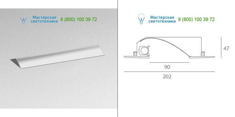 Artemide Architectural gray M067920, светильник > Ceiling lights > Recessed lights