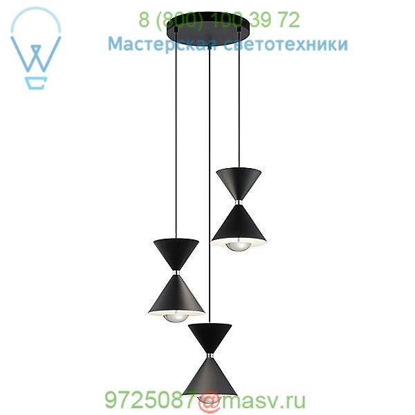 Elan Lighting 84114 Kordan LED Multi-Light Pendant Light, подвесной светильник