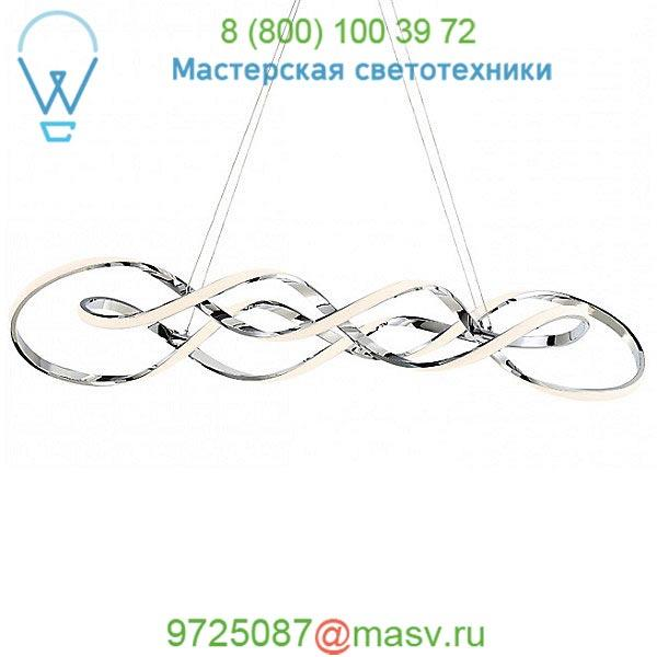 Interlace LED Pendant Light PD-47828-CH dweLED, светильник