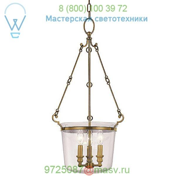 OB-131-AGB Hudson Valley Lighting Quinton Pendant Light (Aged Brass/Small) - OPEN BOX RETURN, опенбокс