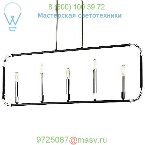 Minka-Lavery Liege 5-Light Linear Suspension Light 4065-572, светильник